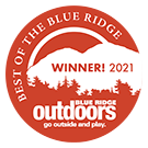 Blue ridge outdoors best of 2021 winner